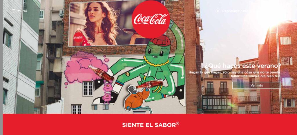 Tendencias en diseño gráfico_Coca Cola