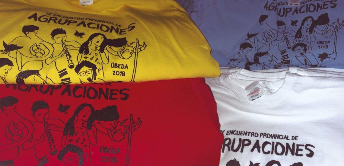 Camisetas Encuentro de Agrupaciones Ubeda