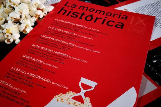 Díptico Cine Memoria Histórica