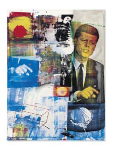 Retroactivo II de Robert Rauschenberg 1963
