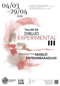 III Taller de Dibujo Experimental UJA Jaén