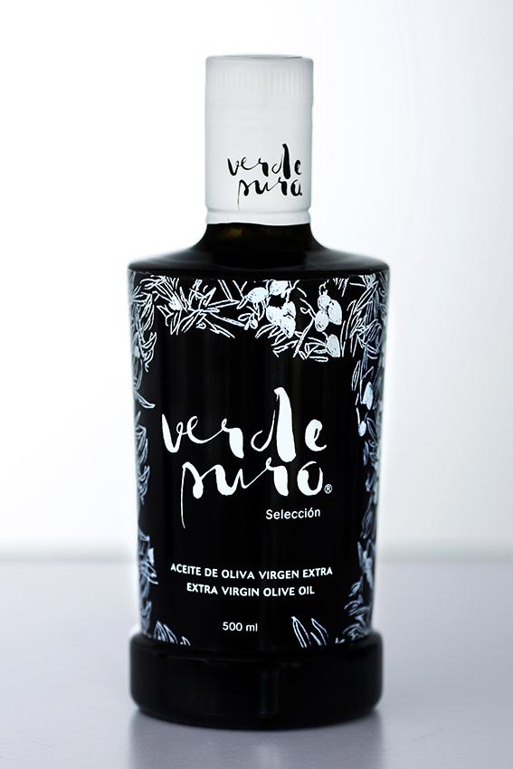 Packaging Aceite de Oliva Virgen Extra Verde Puro Selección