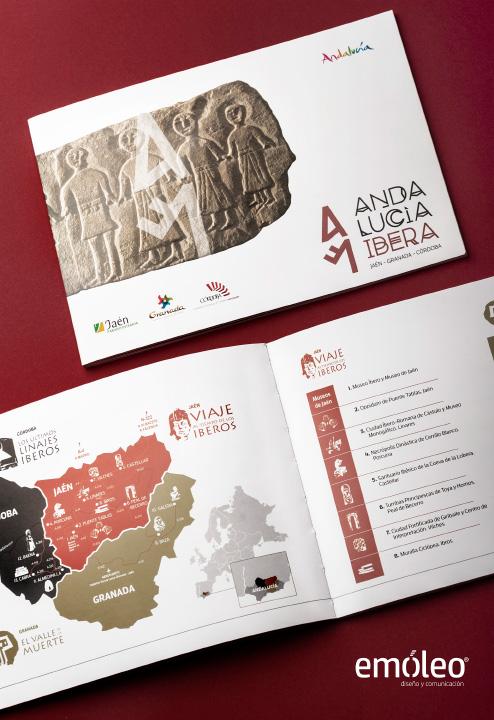 Emóleo Diseño Editorial Andalucía Íbera 1