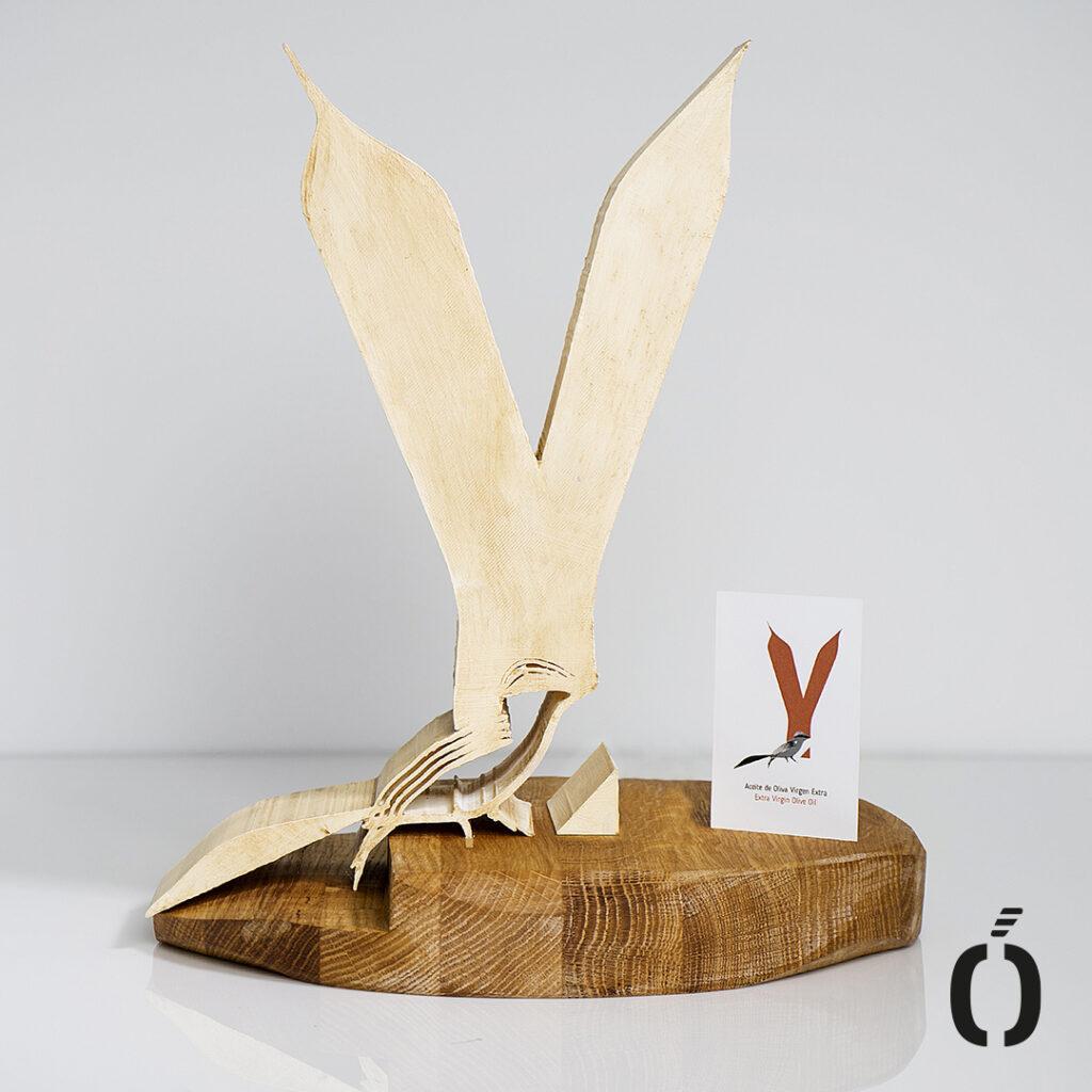 Escultura Tierras del Yeguas Marfil